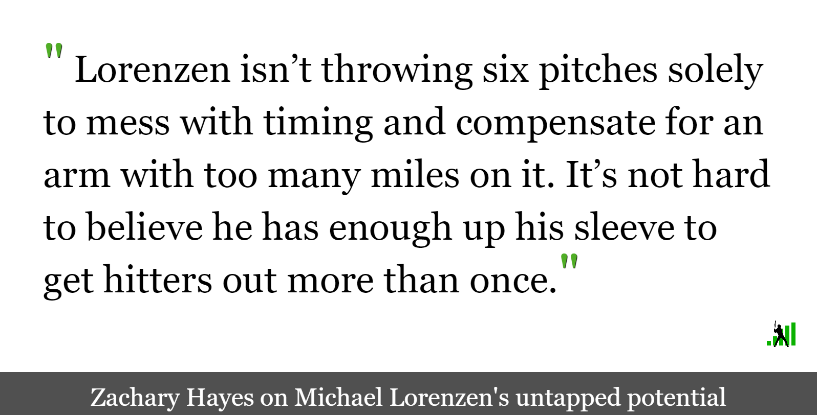 Six-Trick Ponies: Could the Reds Do More with Michael Lorenzen's Tools?
