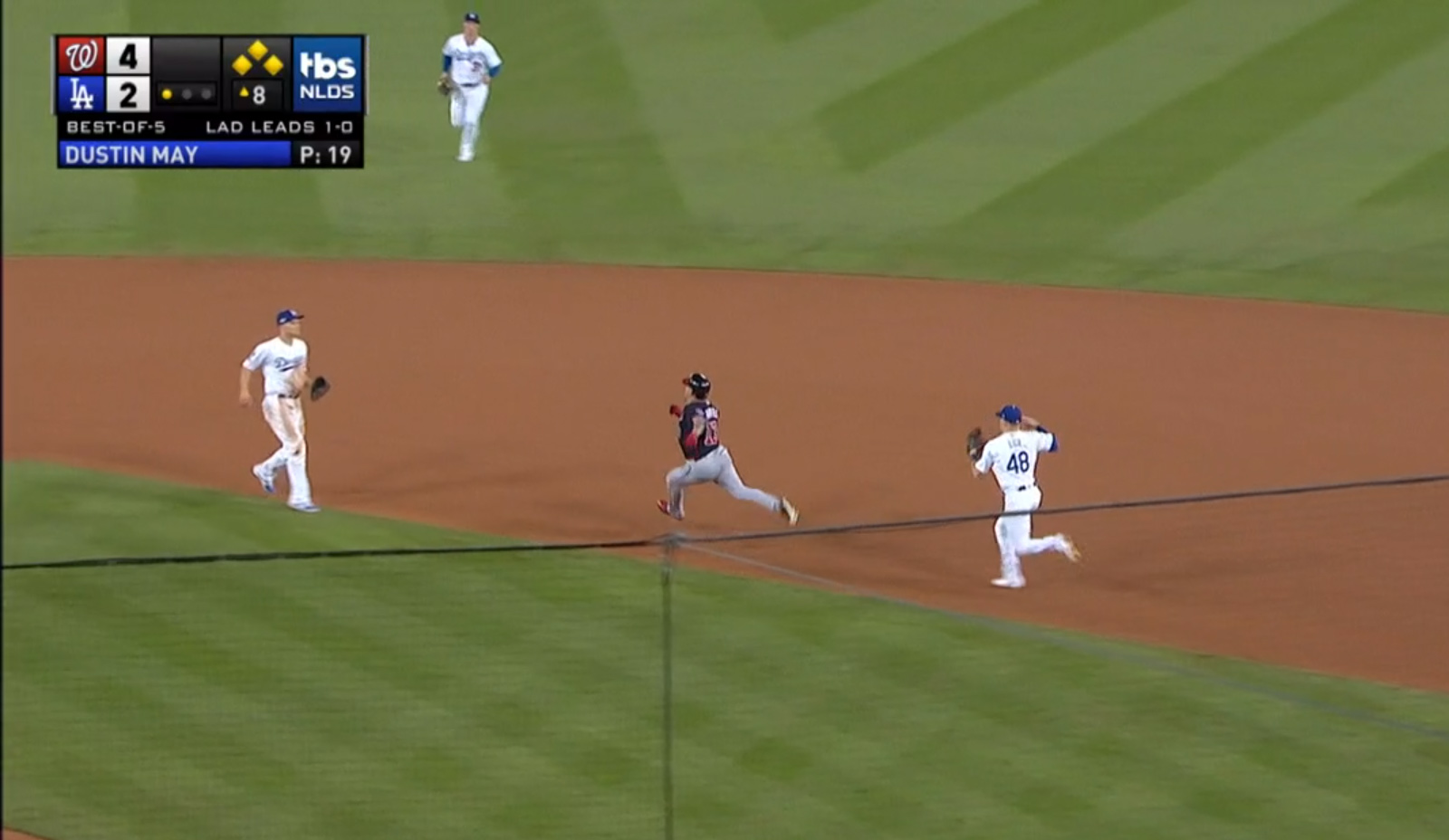 Playoff Execution: A Look at Asdrúbal Cabrera's Baserunning Error in NLDS Game 2